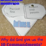 10 commandments craft