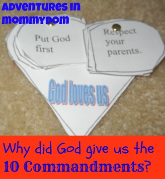 10 commandments craft