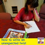 write an unexpected twist using picture books