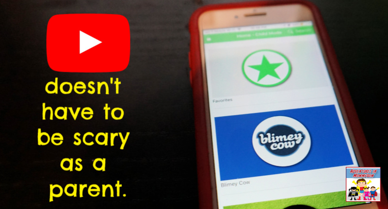 your kid can safely use youtube